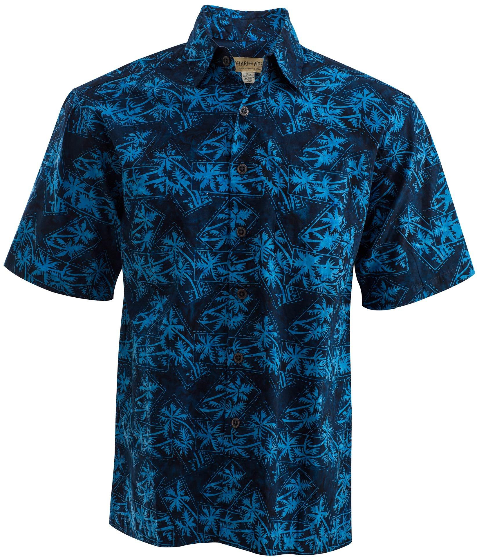 Montego Blue Shirt (M), Blue, Medium, Johari West