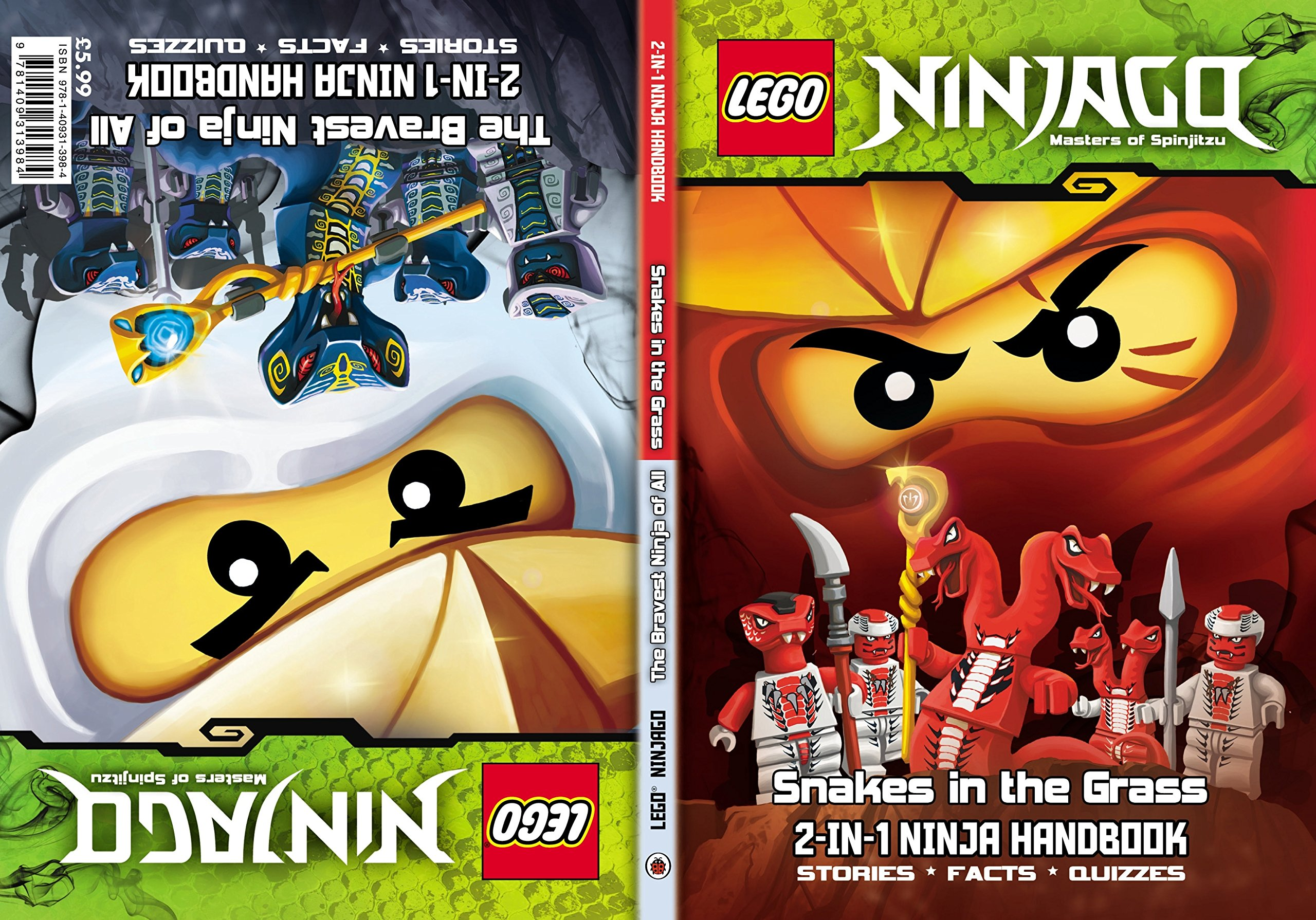 LEGO Ninjago 2-in-1 Ninja Handbook: The Bravest Ninja of All ...