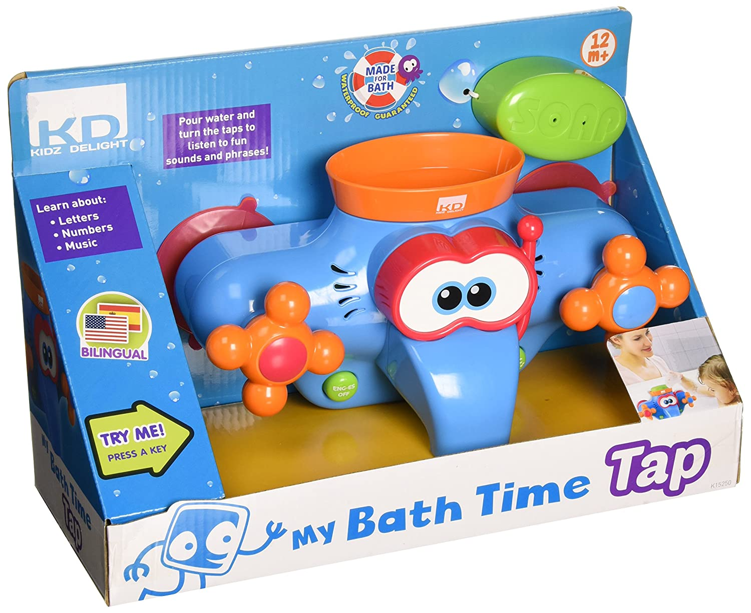 Amazon.com: Kidz Delight My Bath Time Tap Toy: Toys & Games