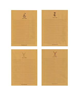 80 Pcs Writing Stationery Paper Pad Letter, Lined Vintage Letter Writing  Paper Sets, 8  Lined Letter Writing Paper