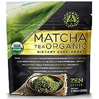 Matcha Green Tea Powder Organic - Japanese Premium Culinary Grade, Unsweetened &...