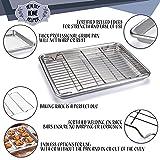 Quarter Sheet Baking Pan, Vegetables, and