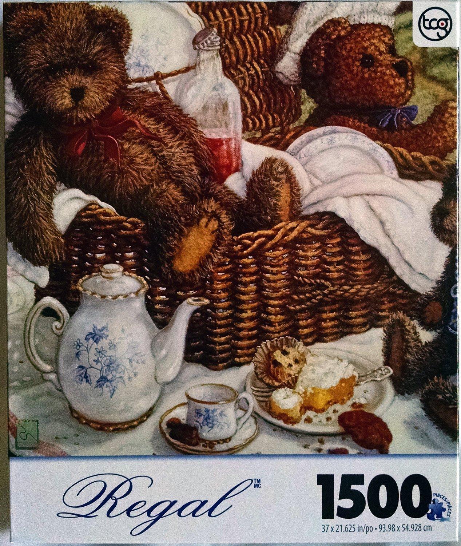 Bear Picnic Regal 1500 Pc Jigsaw Puzzle