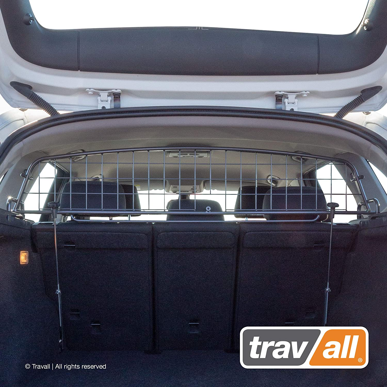 Travall Guard Compatible with BMW X1 2009-2015 TDG1250 – Rattle-Free Luggage and Pet Barrier