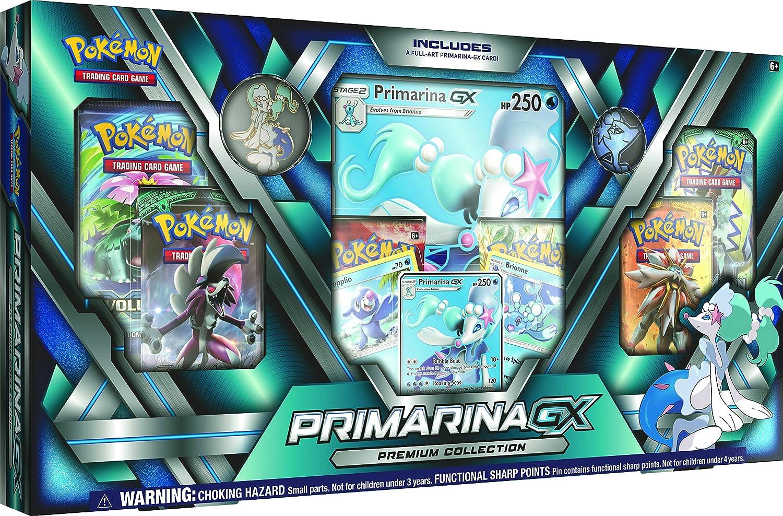 Pokemon Sun /& Moon Primarina-Gx Premium Collection Toy POK699-16798