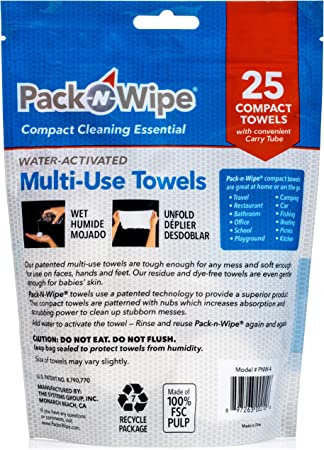 Camping Reusable Towels Sunrans 30 Pieces Mini Compressed Towels Beauty Salon Hand Towels Durable Home /& Outdoor Activities Camping Wipes for Travel Upgrade Disposable Towel Portable Soft