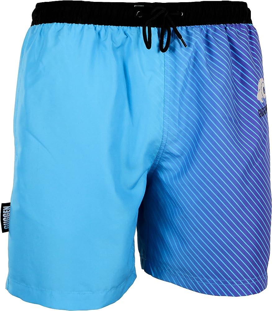 große Auswahl an Farben vollständige Palette von Spezifikationen große Vielfalt Stile Herren Badeshorts Beachshorts Boardshorts Badehose Schwimmhose Männer mit  blauem Muster