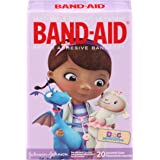 Band-Aid Brand Adhesive Bandages Featuring Doc Mcstuffins For Kids, Assorted Sizes, 20 Count