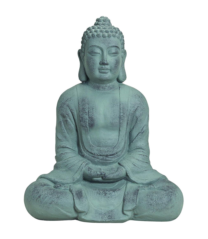 Figuren statuen for Steinfigur buddha garten