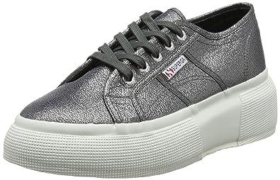 Alta qualit Sneaker SUPERGA LAMEW Color Argento vendita