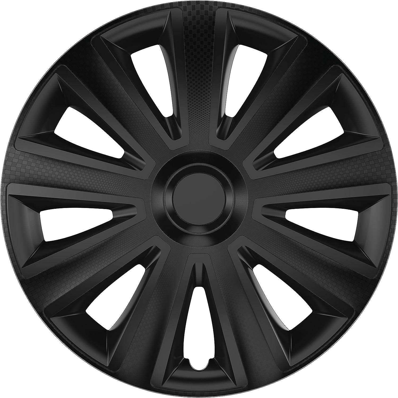 ZentimeX Z778417 Radkappen Radzierblenden universal 13 Zoll black