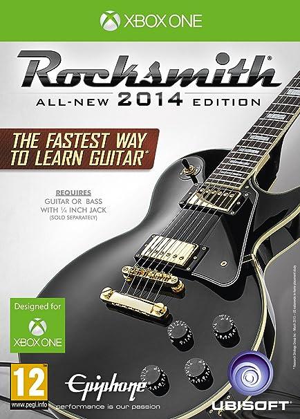 Rocksmith 2014 Edition With Real Tone Cable [Importación Inglesa]: Amazon.es: Videojuegos