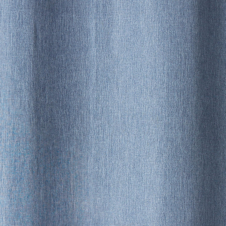 douceur dint/érieur rideau a oeillets 140x260 cm chambray newton anthracite
