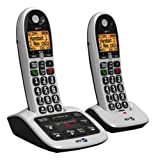 BT4600 Big Button Advanced Call Blocker Home Phone with Answer Machine (Twin Handset Pack) (Certified Refurbished)