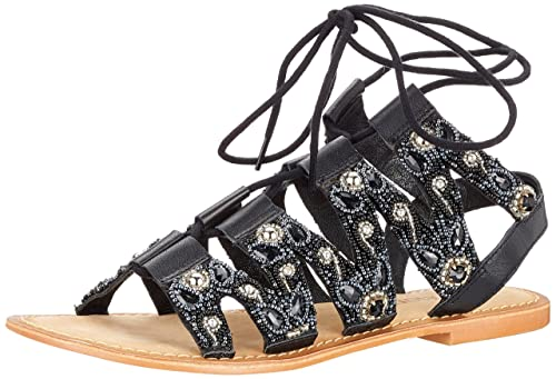 Womens Vmtyra Leather Gladiator Sandals Vero Moda Buy Cheap Popular Sast Cheap Price Cheap Nicekicks Reliable Cheap Price D4JRHCEc