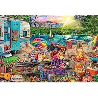Buffalo Games-Aimee Stewart-Family Campsite-2000 Piece Jigsaw Puzzle