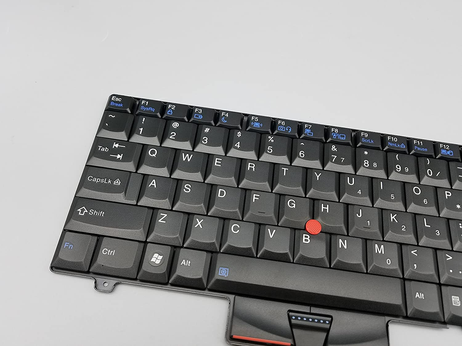 New Laptop Replacement Keyboard for Thinkpad L410 L412 L420 L420 L512 L520 SL410 SL410K SL510K SL510K Series US Layout 45N2318 45N2353 5BA03G GM-84US MP-08J83US-387 Black SL410