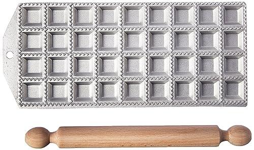 Eppicotispai 36 Holes Aluminum Square Ravioli Maker