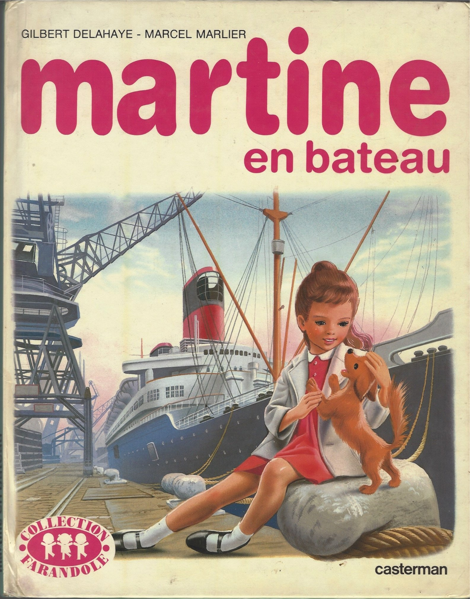 Martine En Bateau Gilbert And Marlier Marcel Delahaye