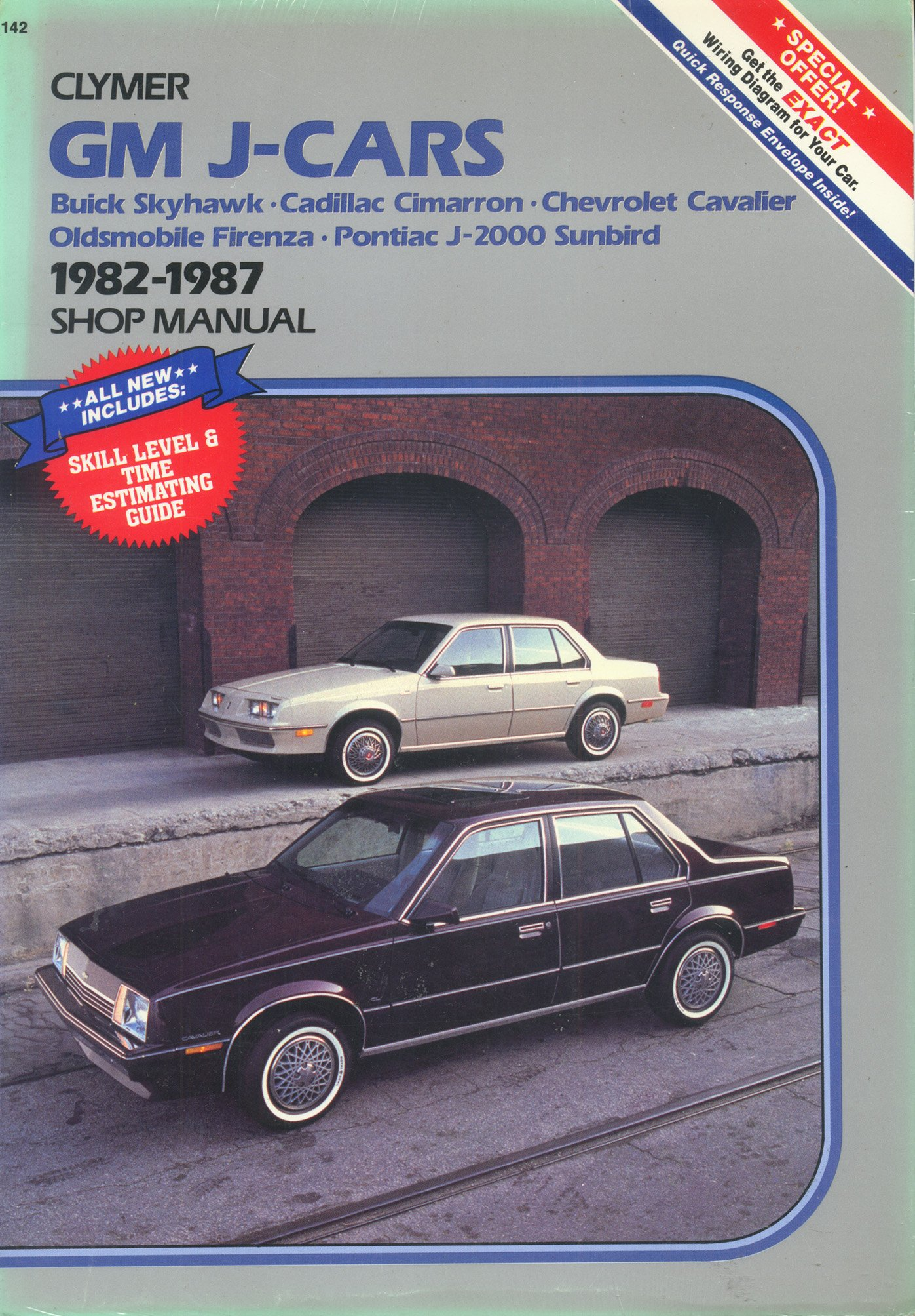 gm j cars buick skyhawk cadillac cimarron chevrolet cavalier rh amazon com 1992 Cadillac 1977 Cadillac