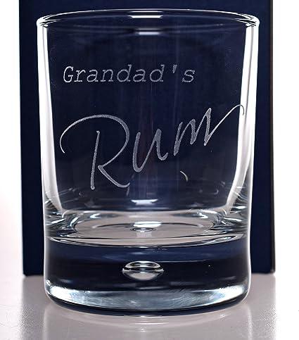 FBA) grabado para el abuelo Ron vaso de cristal – regalo Idea ...