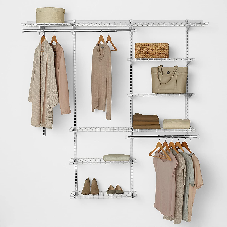 Great Amazon.com: Rubbermaid Configurations Closet Kits, 3 6 Ft., Deluxe, White  (FG3H8800WHT): Home U0026 Kitchen