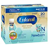 Amazon Price History for:Enfamil  Newborn Baby Formula - 2 fl oz Plastic Nursette Bottles,6 Count (Pack of 4)