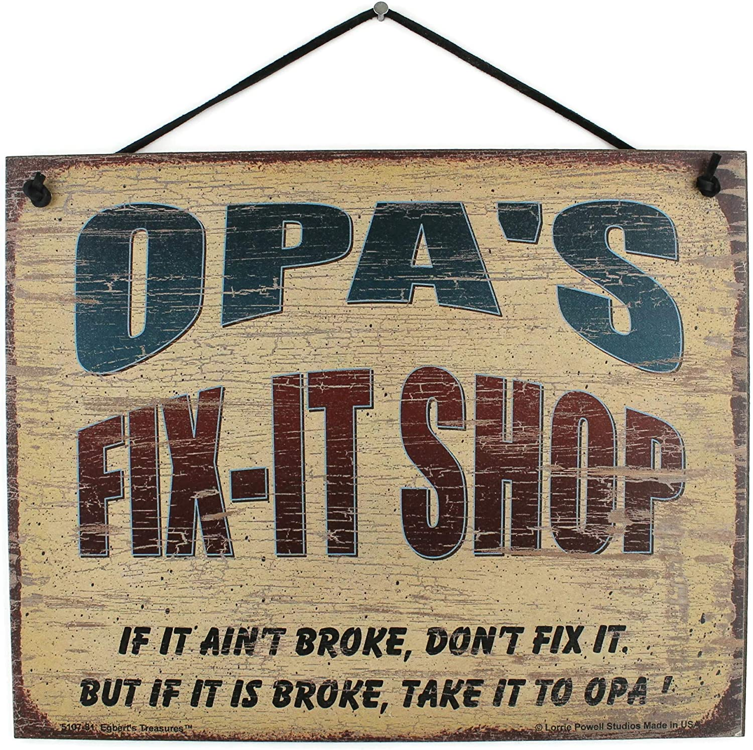 8x10 Vintage Style Sign Saying