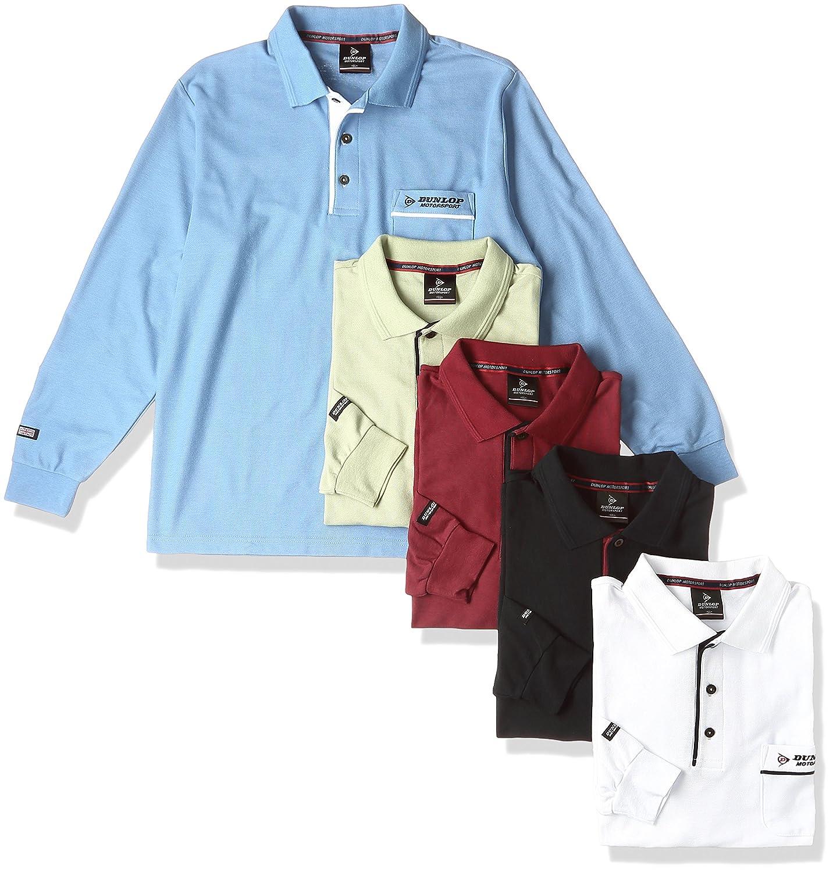 (ベルーナ) BELLUNA <DUNLOP MOTORSPORT>お買得! 安心定番長持ちポロシャツ5色組 B01CHL8CG8 日本 5L-(日本サイズ5L相当)|5色組(ワイン/ホワイト/ネイビー/ブルー/ミントグリーン) 5色組(ワイン/ホワイト/ネイビー/ブルー/ミントグリーン) 日本 5L-(日本サイズ5L相当)