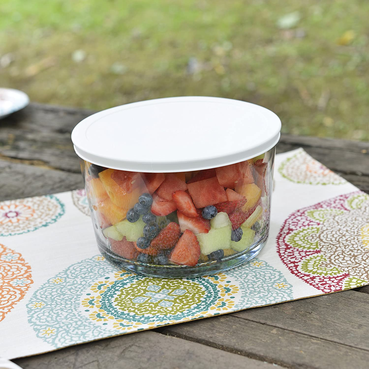 Anchor Hocking Party Bowl with Lid