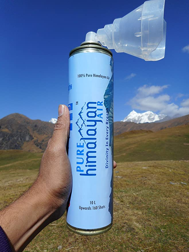 Image result for fresh air bottled Himalayan