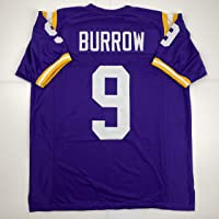 $49 » Unsigned Joe Burrow LSU Purple Custom Stitched College Football Jersey Size Men's XL New No Brands/Logos