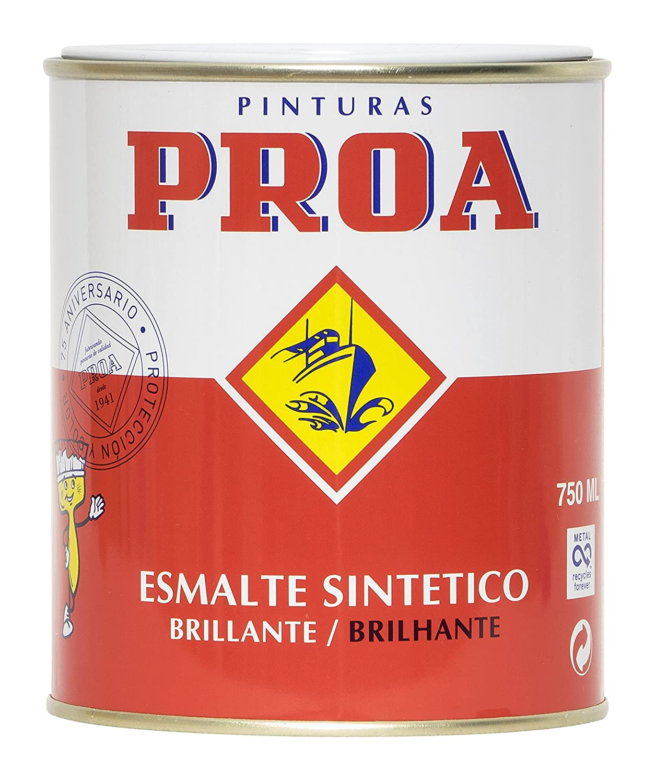 Proa. Esmalte sinté tico brillante Proa, Amarillo RAL 1023. 125 ML Industrias proa SP723F