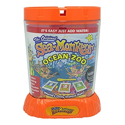 Sea Monkeys 80482 Ocean Zoo- Color May Vary: Toys & Games