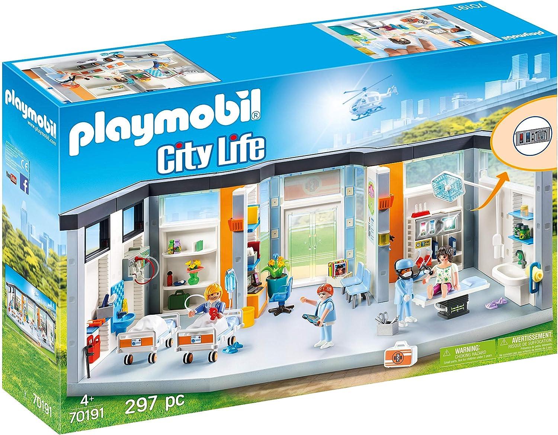 PLAYMOBIL Planta de Hospital (70191)