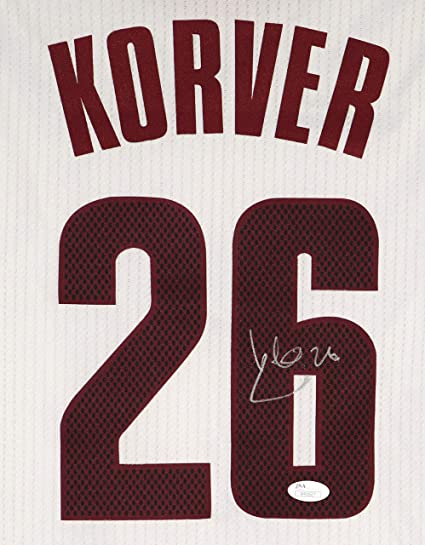 Kyle Korver Cleveland Cavaliers Cavs Signed Autographed White #26 Jersey JSA COA