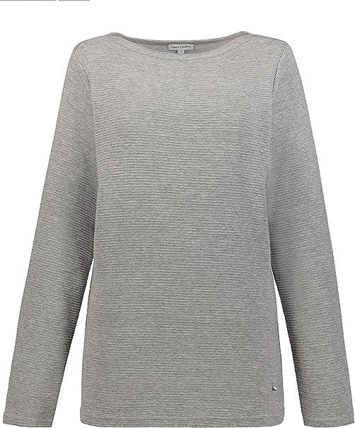 GINA LAURA Streifen-Pullover Bindeband Donna