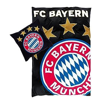 Fc Bayern München Bettwäsche Glow In The Dark Fcb Gratis Sticker