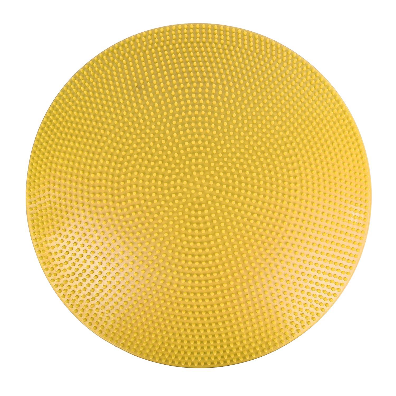 CanDo Inflatable Vestibular Balance Disc, 23.6 diameter, Yellow 23.6 diameter 30-1868Y