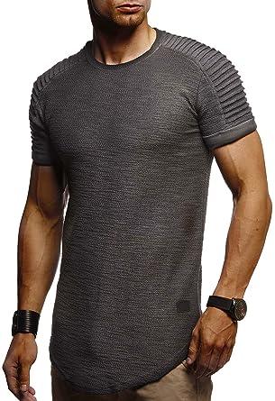 Slim T Nelson Fit Rundhals Herren Shirt Sommer Leif Ausschnitt nZ7HxBW07