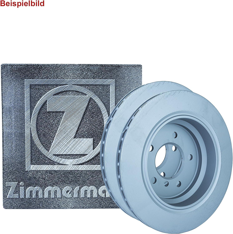 2x ZIMMERMANN BREMSSCHEIBEN /Ø330 mm SET VORNE