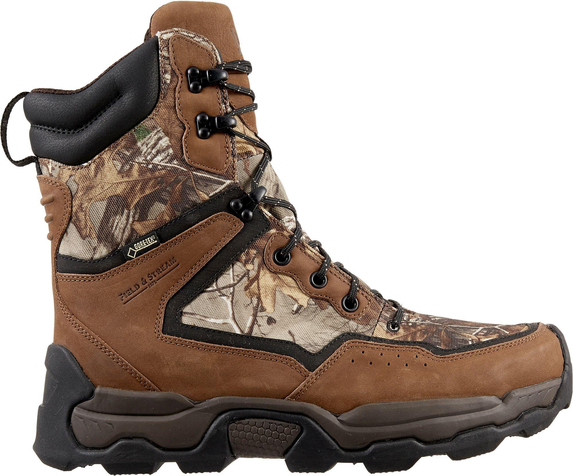 Field & Stream Men's Field Seeker 400g GORE-TEX Hunting Boots (Camo, 12.0 D(M) US) by Field & Stream
