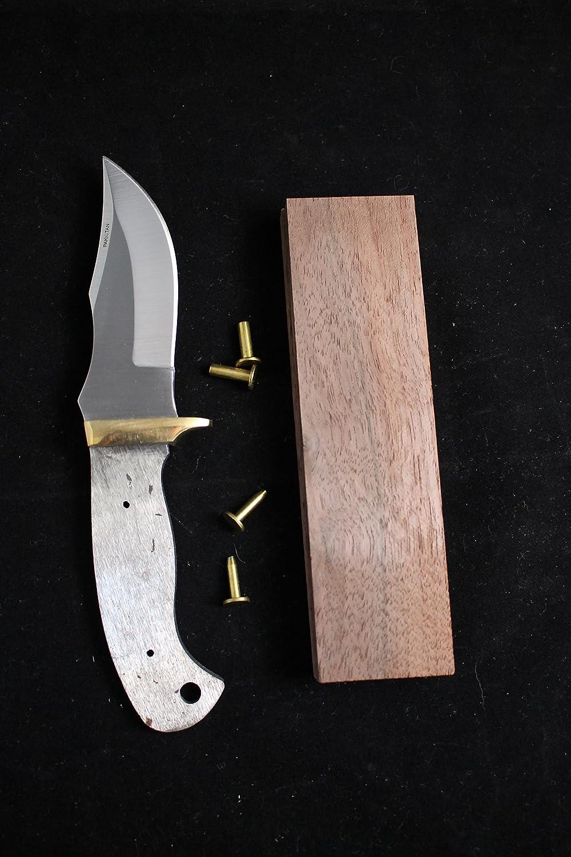 Payne Bros Custom Knives 6.75 inch SM Clip Point Knife kit, Walnut