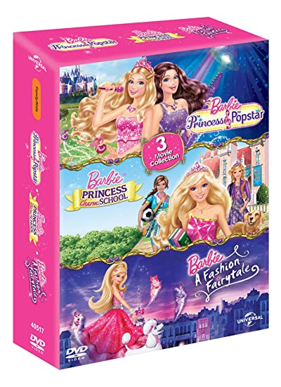 Barbie Princess Popstar Princess Charm School A Fashion Fairytale Amazon In Kelly Sheridan Jennifer Waris Ashleigh Ball Diana Kaarina Morwenna Banks Nicole Oliver Ezekiel Norton Kelly Sheridan Jennifer Waris Movies Tv Shows