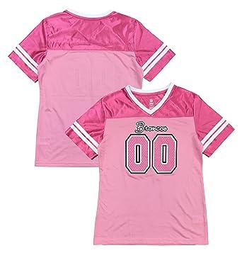 buy online b21a1 54e17 Amazon.com: Outerstuff Denver Broncos Primary Logo Pink ...