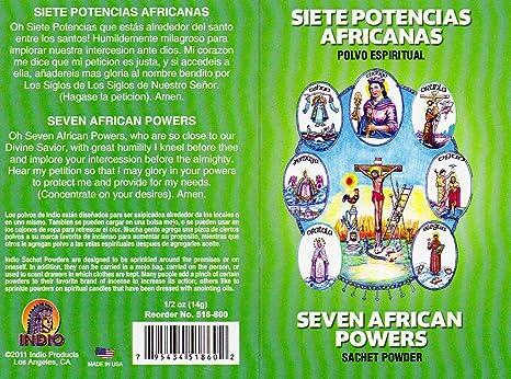 Amazon.com: 7 Potencias africanas Siete Potencias – 7 ...