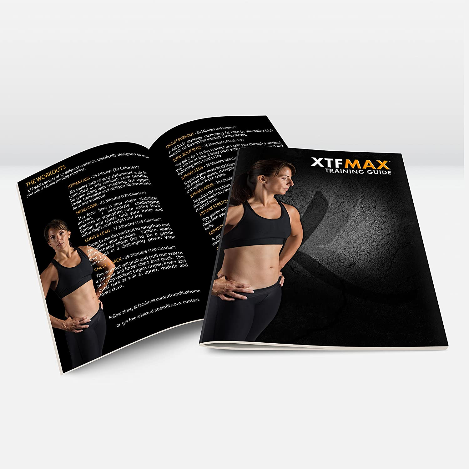 Xtfmax 90 Day Dvd Workout Program With 12 Exercise Minute Full Body Circuit Sexy And I Know It Pinterest Videos Training Calendar Fitness Guide Nutrition Plan Sports Outdoors