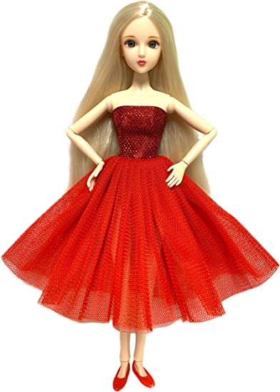 Barbie Pose-able Teddy Bear Red