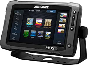 Lowrance 000-10770-001 HDS-9 Gen2 Touch with 9-Inch LCD Touchscreen, Multi-Function Display, Plotter and Built-in Depth Sounder, No Transducer
