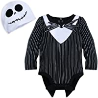 Disney Jack Skellington Costume Bodysuit with Hat for Baby Size 0-3 MO Multi  sc 1 st  Amazon.com & Amazon.com: Disguise Costumes Jack Skellington Prestige Infant ...